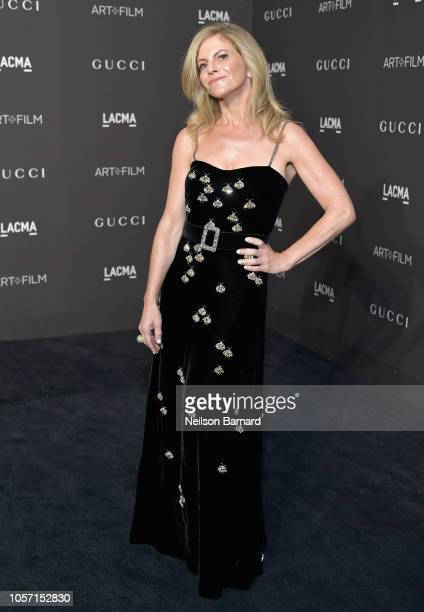 Producer Allison Berg attends 2018 LACMA Art Film Gala honoring Catherine Opie and Guillermo del Toro presented by Gucci at LACMA on November 3 2018...