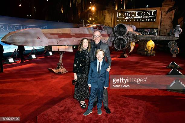 Producer Allison Shearmur and family attend The World Premiere of Lucasfilm's highly anticipated firstever standalone Star Wars adventure 'Rogue One...