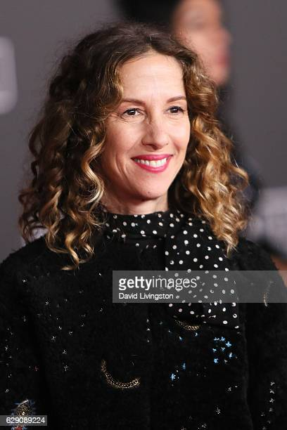 Producer Allison Shearmur arrives at the premiere of Walt Disney Pictures and Lucasfilm's 'Rogue One A Star Wars Story' at the Pantages Theatre on...