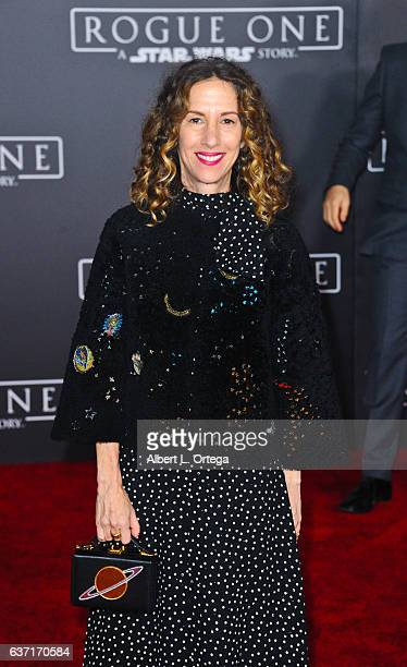 Producer Allison Shearmur arrives for the Premiere Of Walt Disney Pictures And Lucasfilm's 'Rogue One A Star Wars Story' held at the Pantages Theatre...