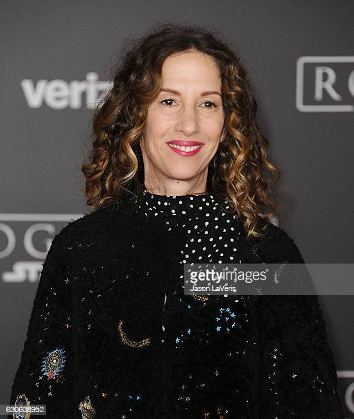Producer Allison Shearmur attends the premiere of 'Rogue One A Star Wars Story' at the Pantages Theatre on December 10 2016 in Hollywood California