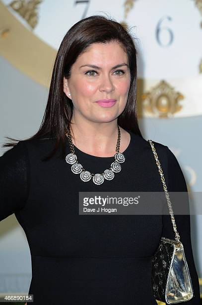 "Producer Amanda Lamb attends the UK Premiere of ""Cinderella"" at Odeon Leicester Square on March 19, 2015 in London, England."