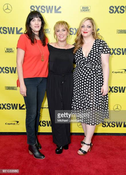 Producer Amanda Marshall director Miranda Bailey and producer Danielle Blumstein attend the 'You Can Choose Your Family' premiere during the 2018...