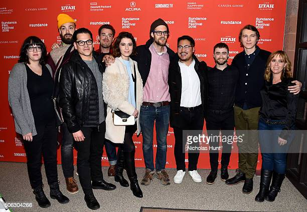 Producer Amanda Marshall sound mixer Brent Kiser producer Jonathan Wang editor Matthew Hannam actress Mary Elizabeth Winstead writer/directors Daniel...