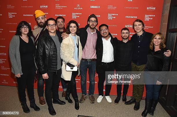 Producer Amanda Marshall sound mixer Brent Kiser producer Jonathan Wang editor Matthew Hannam actress Mary Elizabeth Winstead writer/directors Daniel...