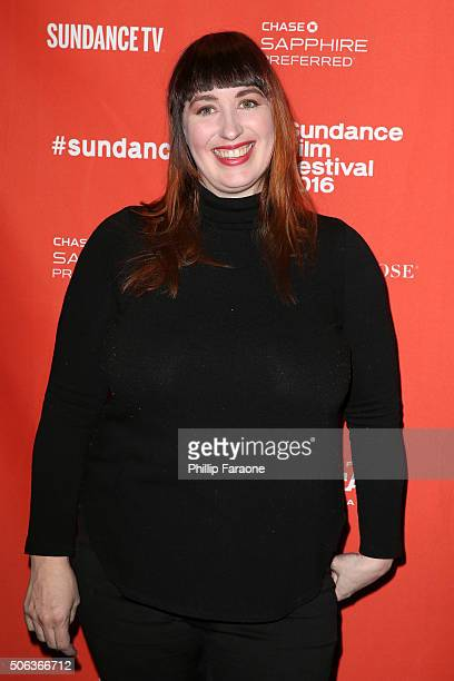 Producer Amanda Moore attends the Nuts Premiere at Temple Theater on January 22 2016 in Park City Utah