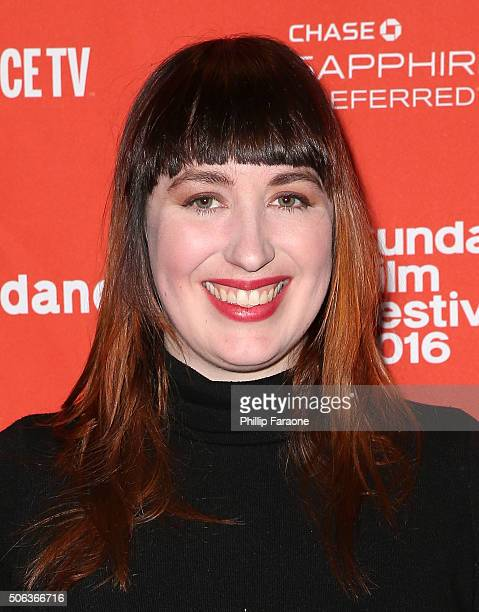 Producer Amanda Moore attends the 'Nuts' Premiere at Temple Theater on January 22 2016 in Park City Utah