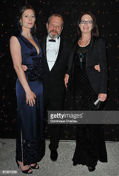 """Producer Amy Gilliam, director Terry Gilliam and guest attend """"The Imaginarium of Doctor Parnassus"""" after party during the 62nd Annual Cannes Film..."""