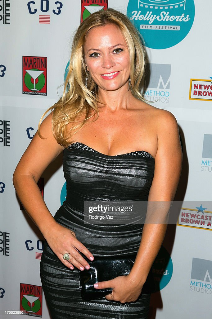 Producer Amy Hedrick attends the 9th Annual HollyShorts Film Festival Opening Night Arrivals at TCL Chinese Theatre on August 15, 2013 in Hollywood, California.