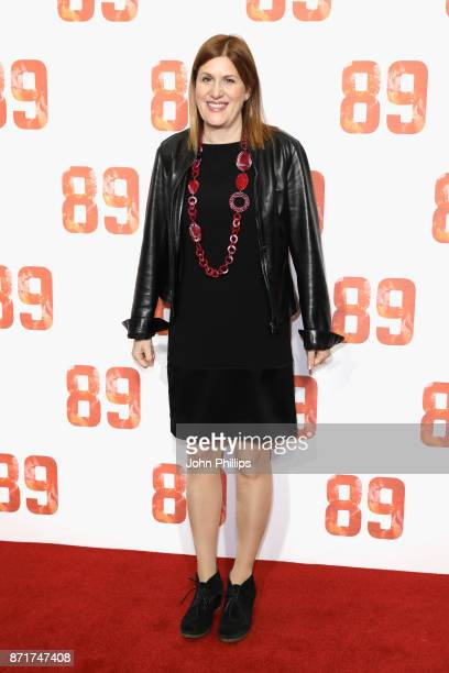 Producer Amy Lawrence arriving at the '89' World Premiere held at Odeon Holloway on November 8 2017 in London England