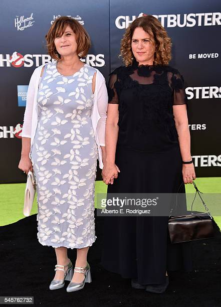 Producer Amy Pascal arrives at the Premiere of Sony Pictures' 'Ghostbusters' at TCL Chinese Theatre on July 9 2016 in Hollywood California