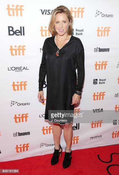 Producer Amy Redford attends the premiere of Professor Marston The Wonder Women during the 2017 Toronto International Film Festival at Princess of...