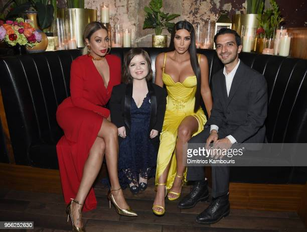 Producer and Actress Lala Anthony Writer and Activist Sinead Burke Founder and CEO KKW Kim Kardashian and Founder The Business of Fashion Imran Amed...
