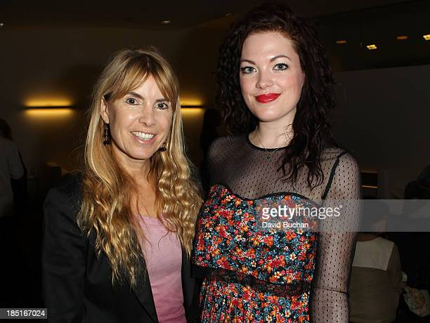 Producer and BAFTA member Producer Julia Verdin and Actress Jessica Doherty attend the BAFTA Brits to Watch The Screening of Burton and Taylor With...