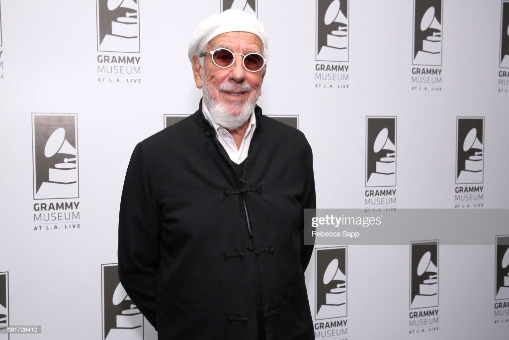 Producer and co-founder of the Monterey International Pop Festival Lou Adler attends A Conversation with Lou Adler at The GRAMMY Museum on May 10, 2017 in Los Angeles, California.