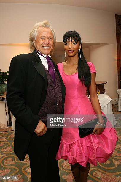 Producer and dinner chairman Peter Nygard and guest attend the 17th Annual Night Of 100 Stars Oscar Gala held at the Beverly Hills Hotel on February...