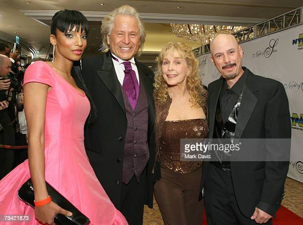Producer and dinner chairman Peter Nygard and guests attend the 17th Annual Night Of 100 Stars Oscar Gala held at the Beverly Hills Hotel on February...