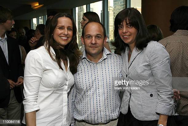 Producer and Director Edet Belzberg Andrew Hurwitz and HBO's Vice President of Documentary Films Nancy Abraham attend the HBO Documentary Films...