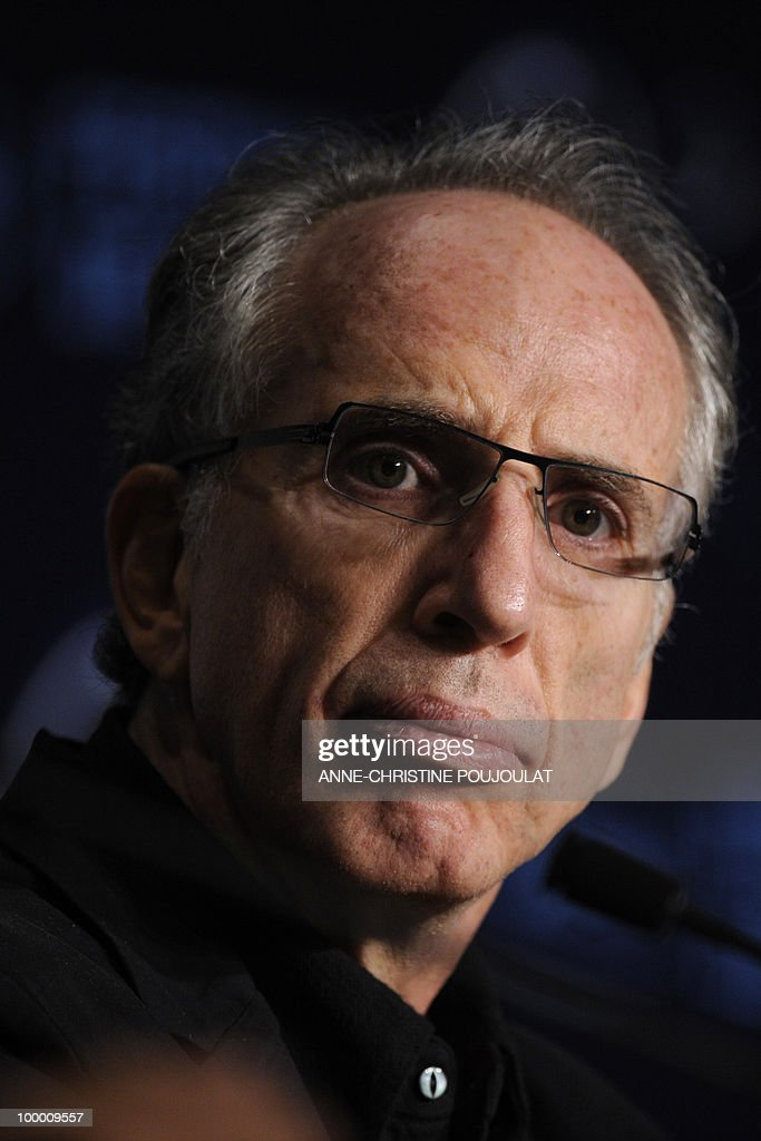 US producer and director Jerry Zucker attends the press conference of 'Fair Game' presented in competition at the 63rd Cannes Film Festival on May 20, 2010 in Cannes.