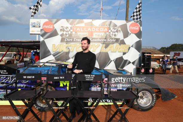 Producer and founder of AMBI Media Group Andrea Iervolino On The Set Of The Movie Trading Paint on September 14 2017 in Talladega Alabama
