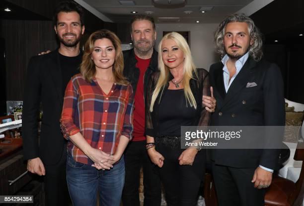 Producer and founder of AMBI Media Group Andrea Iervolino Shania Twain John Travolta producer and founder of AMBI Media Group Monika Bacardi and...