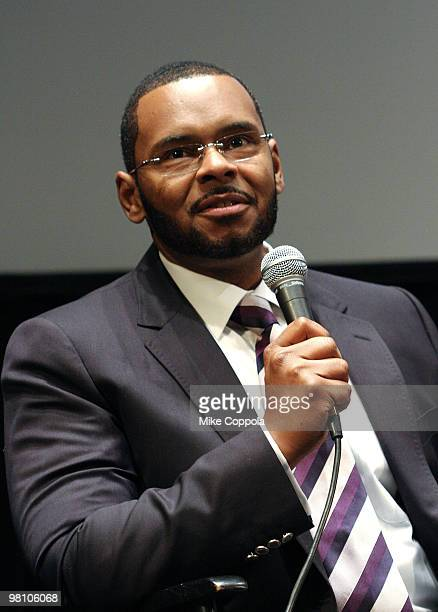 """Producer and founder of SimonSays Entertainment Ronald Simons attends the Film Society of Lincoln Center's """"Night Catches Us"""" at Walter Reade Theater..."""