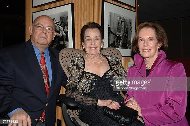 Producer and Lupita Tovar's son Pancho Kohner Lupita Tovar her and daughter actress Susan Kohner attend the tribute to Tovar at the Academy of Motion...