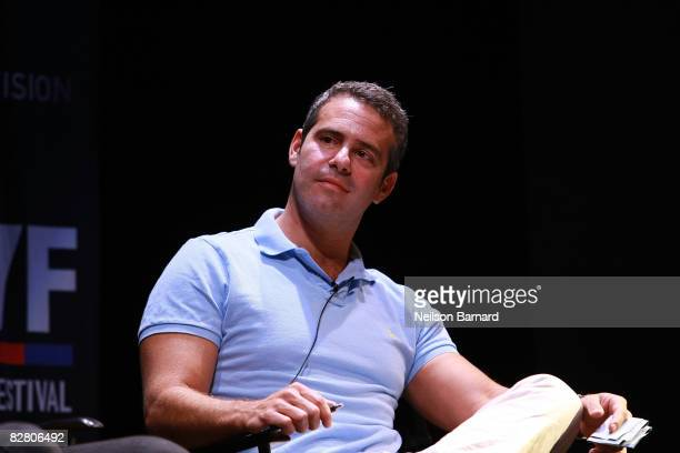Producer and senior VP of Bravo Andy Cohen attends the Watch What Happens on Bravo panel during the 2008 New York Television Festival at New World...