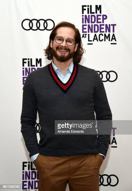 Producer and showrunner Bryan Fuller attends the Film Independent at LACMA special screening and QA of 'American Gods' at the Bing Theatre at LACMA...
