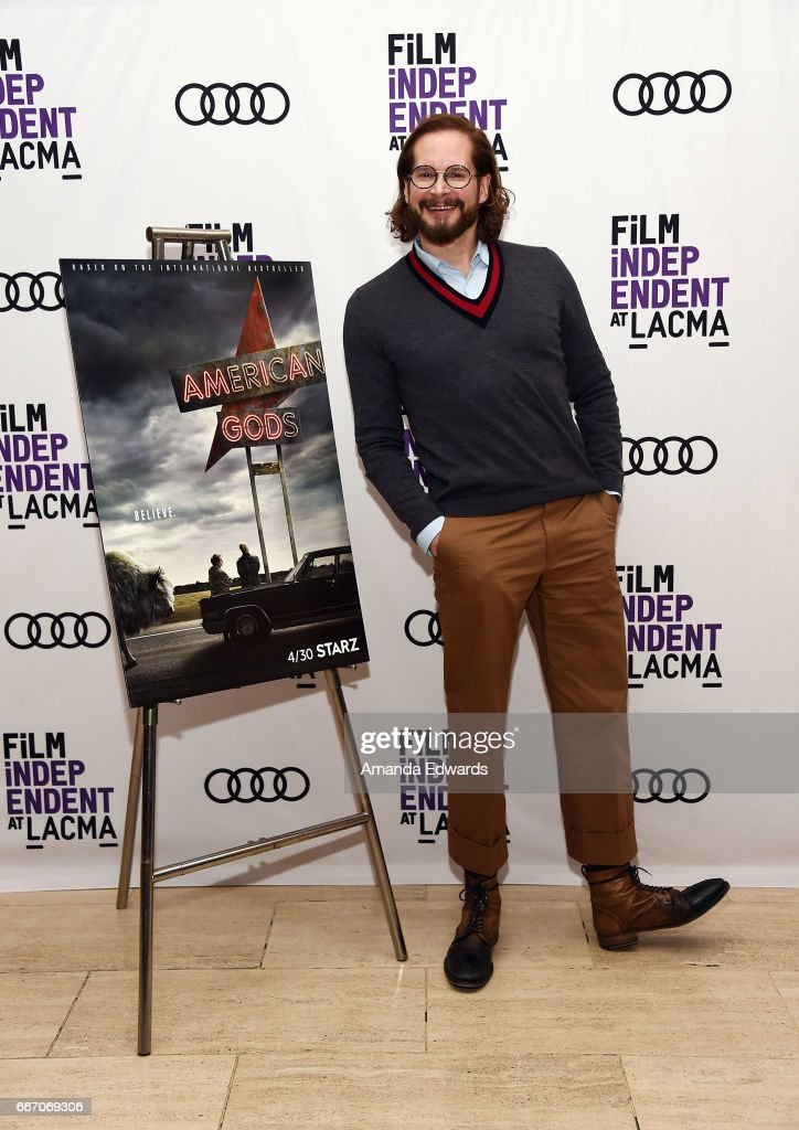 Producer and showrunner Bryan Fuller attends the Film Independent at LACMA special screening and Q&A of 'American Gods' at the Bing Theatre at LACMA on April 10, 2017 in Los Angeles, California.