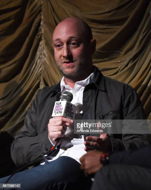 Producer and showrunner Michael Green attends the Film Independent at LACMA special screening and QA of 'American Gods' at the Bing Theatre at LACMA...