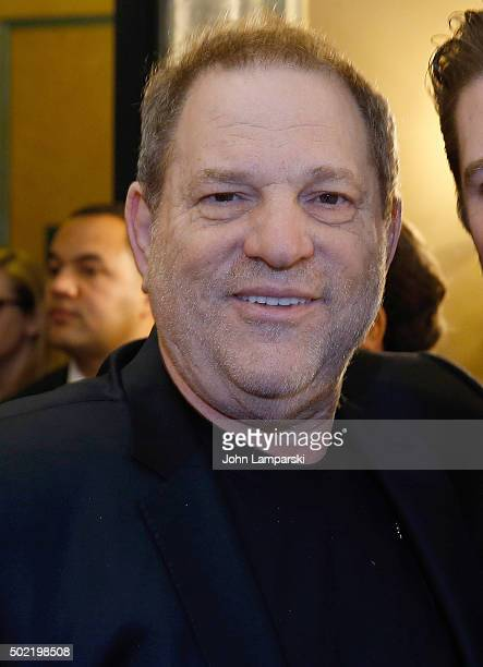 Producer and studio executive Harvey Weinstein in attendance as US Senator Charles E Schumer commemorates last week's change in federal tax law...