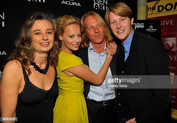 Producer Andrea Balen actress Bijou Phillips producer Claus Clausen and actor Gabriel Mann arrive arrive at the premiere of Samuel Goldwyn Films'...