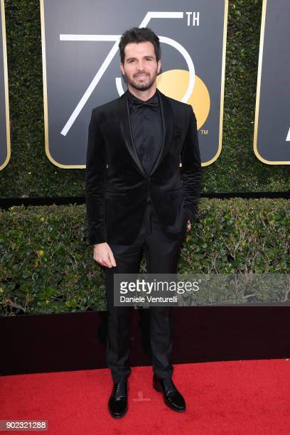 Producer Andrea Iervolino attends The 75th Annual Golden Globe Awards at The Beverly Hilton Hotel on January 7 2018 in Beverly Hills California