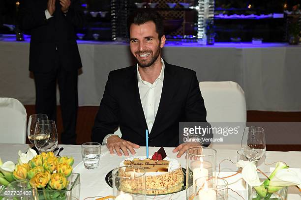 Producer Andrea Iervolino of AMBI Group Grand Gala in Rome for Puerto Azul Resort and Andrea Iervolino's Birthday on December 4 2016 in Rome Italy