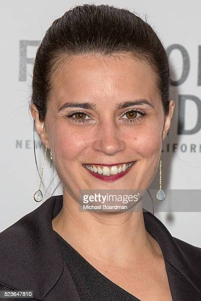 Producer Andrea Lee Fonseca attends the 17th Annual Newport Beach Film Festival Honors Reception 2016 at The Balboa Bay Club And Resort on April 23...