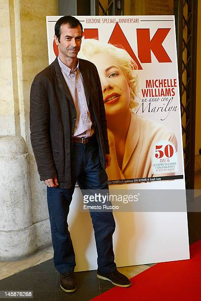 Producer Andrea Occhipinti attends 2012 Ciak d'Oro ceremony awards at Palazzo Valentini on June 6 2012 in Rome Italy