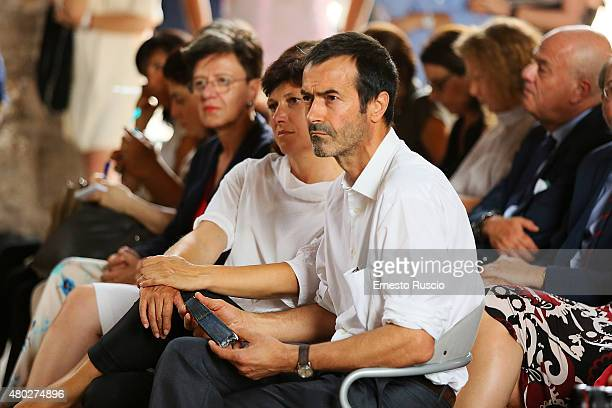 Producer Andrea Occhipinti attends the MIA Press Conference at Terme Di Diocleziano on July 10 2015 in Rome Italy