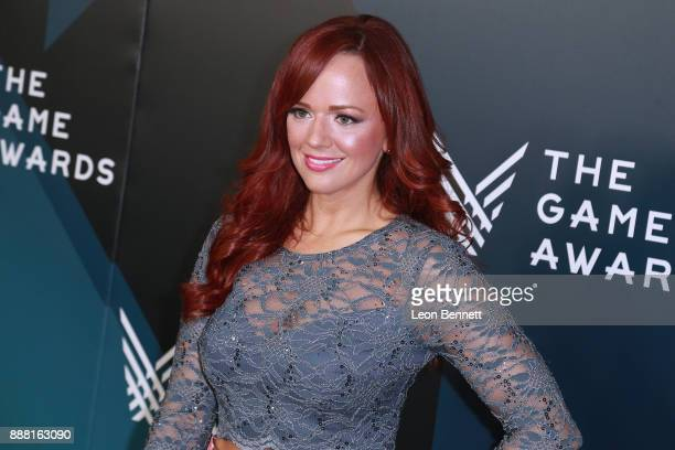 Producer Andrea Rene attends The Game Awards 2017 Arrivals at Microsoft Theater on December 7 2017 in Los Angeles California