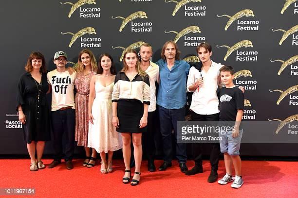 Producer Andrea Staka Actor Milan Peschel Actress Morgane Ferru Actress Zsofia Koros Francis Meier Director Thomas Imbach Nikola Sosic and cast of...