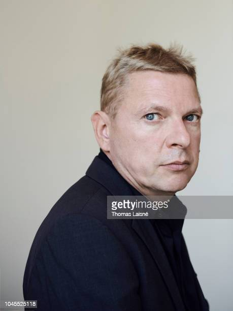 Producer Andreas Goldstein is photographed for Self Assignment on September 2018 in Venice Italy
