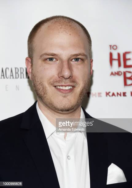 Producer Andrew Barcello arrives at a screening of Epic Pictures Releasing's 'To Hell And Back The Kane Hodder Story' at the TCL Chinese 6 Theatres...