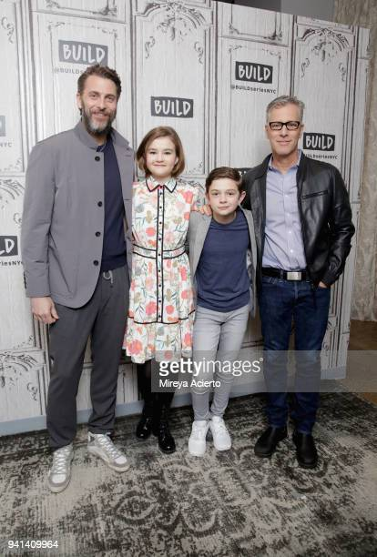 Producer Andrew Form actors Millicent Simmonds and Noah Jupe and producer Brad Fuller visit BUILD to discuss the movie 'A Quiet Place' at Build...