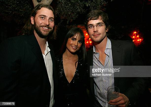 Producer Andrew Form actress Jordana Brewster and actor Matthew Bomer attend the after party for New Line's Texas Chainsaw MassacreThe Beginning at...