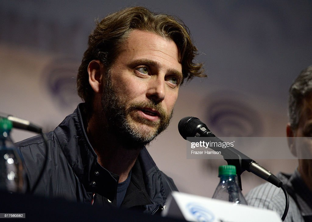 "Producer Andrew Form attends a panel at WonderCon 2016 to promote the upcoming release of Paramount Pictures' ""Teenage Mutant Ninja Turtles – Out of The Shadows"", on March 25, 2016 at the LA Convention Center in Los Angeles, California."