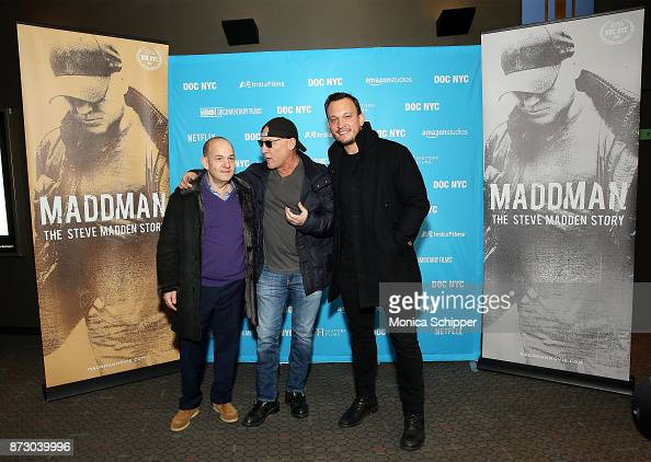 Producer Andrew Herwitz Fashion Designer Steve Madden And Director News Photo Getty Images