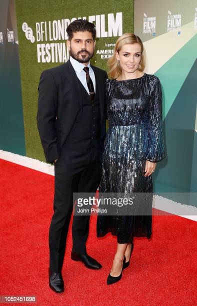 Producer Andrew Levitas and wife Katherine Jenkins attend the UK Premiere of 'The White Crow' Create Gala at the 62nd BFI London Film Festival on...