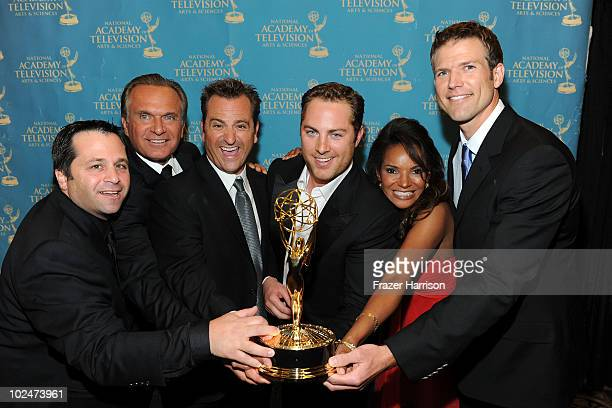 Producer Andrew Scher TV personality Dr Andrew Ordon TV personality Dr Jim Sears producer Jay McGraw TV personality Dr Lisa Masterson and TV...