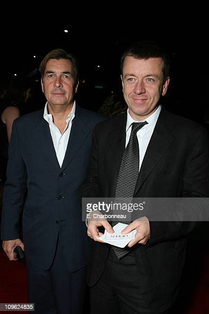 Producer Andy Harries and Writer Peter Morgan during Miramax Films Presents the Los Angeles Premiere of 'The Queen' at ACADEMY OF MOTION PICTURE ARTS...