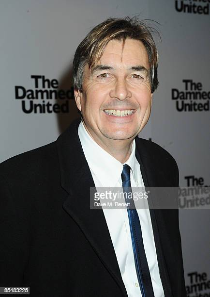 Producer Andy Harries arrives at the UK film premiere of 'The Damned United' at the Vue Cinema Leicester Square on March 18 2009 in London England